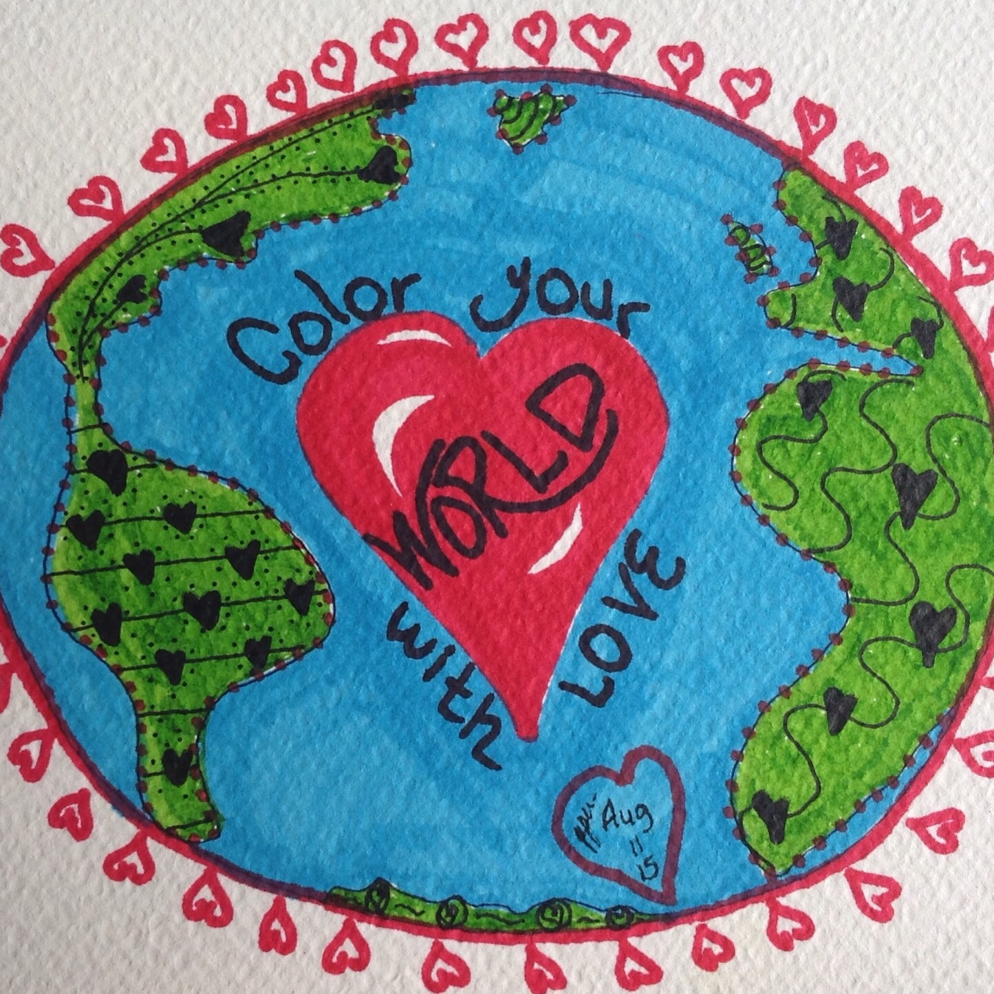 color your world with love casa de whimsy